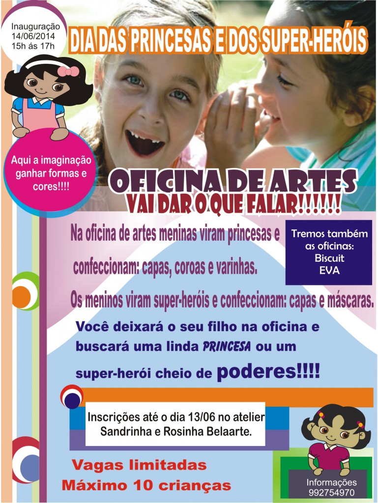 oficina de arte infantil